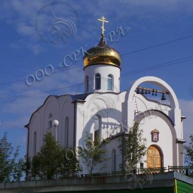 Изготовление и монтаж купола на Свято-Георгиевской церкви