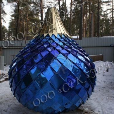 Оксид титана синего цвета