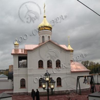 Церковь Иконы Божией Матери «Спорительница хлебов» при Щелковском хлебозаводе, МО