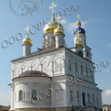 Храм во имя святого преподобного Сергия Радонежского, пос. Монолит, Истринский р-н.