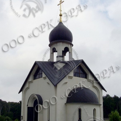 МО, Пыхтинское кладбище. Храм Святого Праведного Лазаря