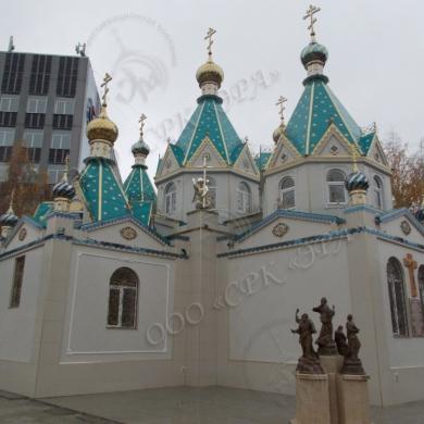 Бийск. Храм в честь Пресвятой Богородицы