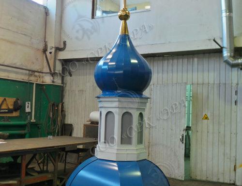Изготовление пяти куполов и крестов для Тихвинской Церкви