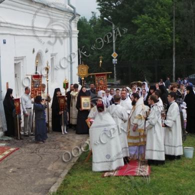 Изготовление и монтаж двух комплектов куполов с ажурными крестами для Спасо-Вознесенского женского монастырь г. Смоленска