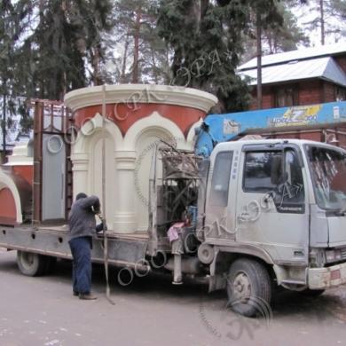 Изготовление подкупольных барабанов в РК «ЭРА»