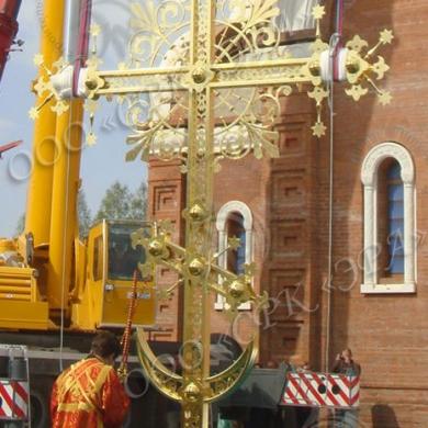 Изготовление крестов, наверший, шпилей компанией «Эра»