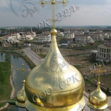 Изготовление куполов компанией «Эра»