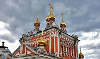 Реставрация, изготовление, золочение куполов Иерусалимскому храму
