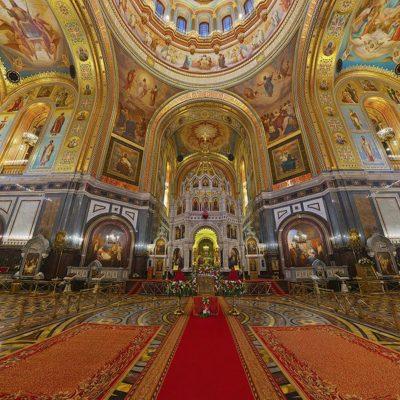 Реставрация в Храме Христа Спасителя